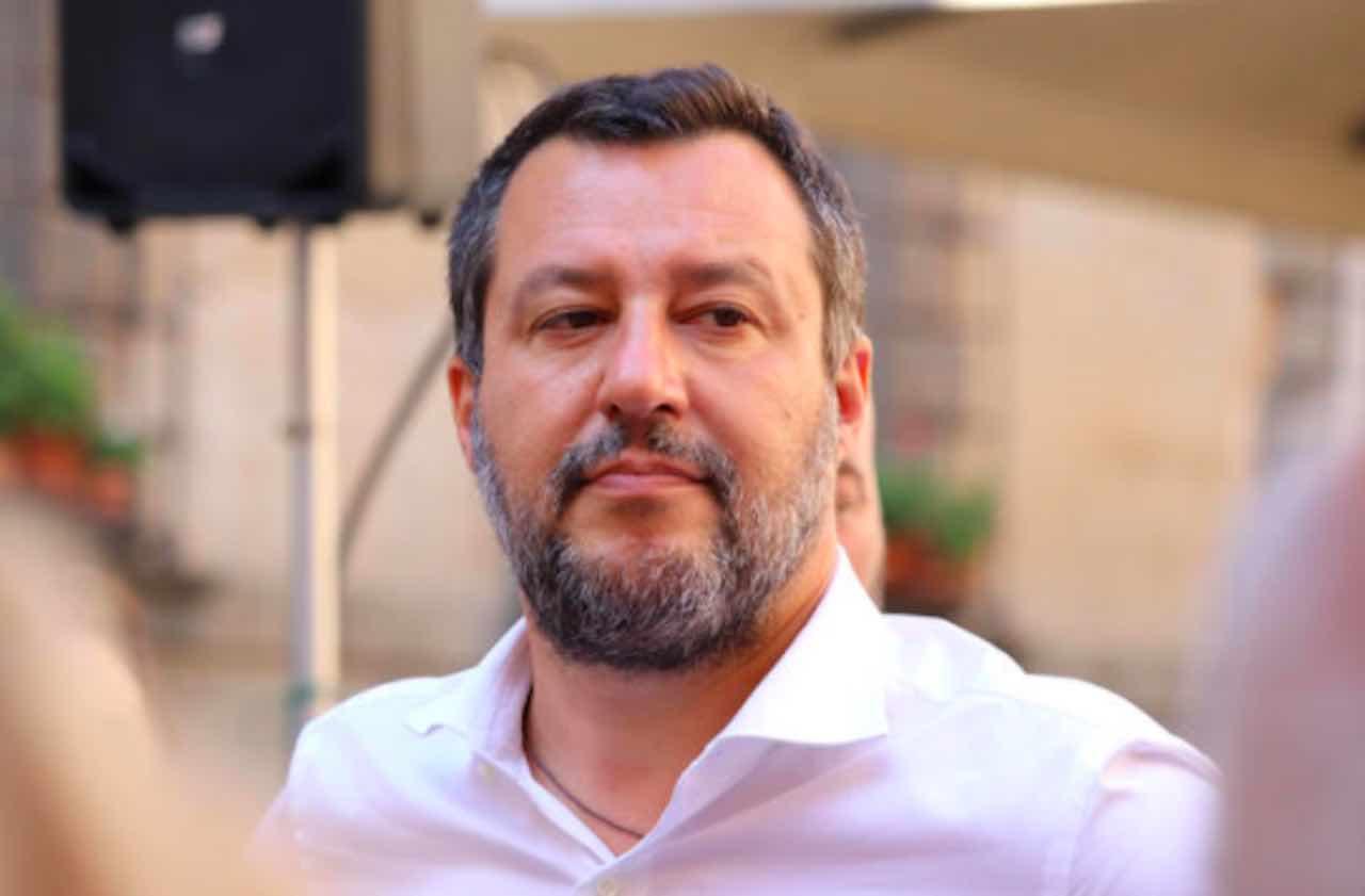 Salvini - Draghi