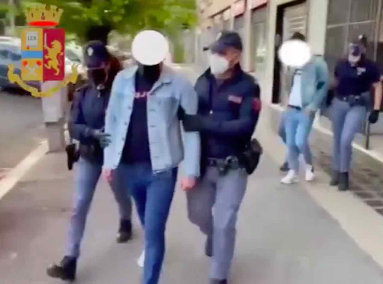 Banda dei georgiani arrestati