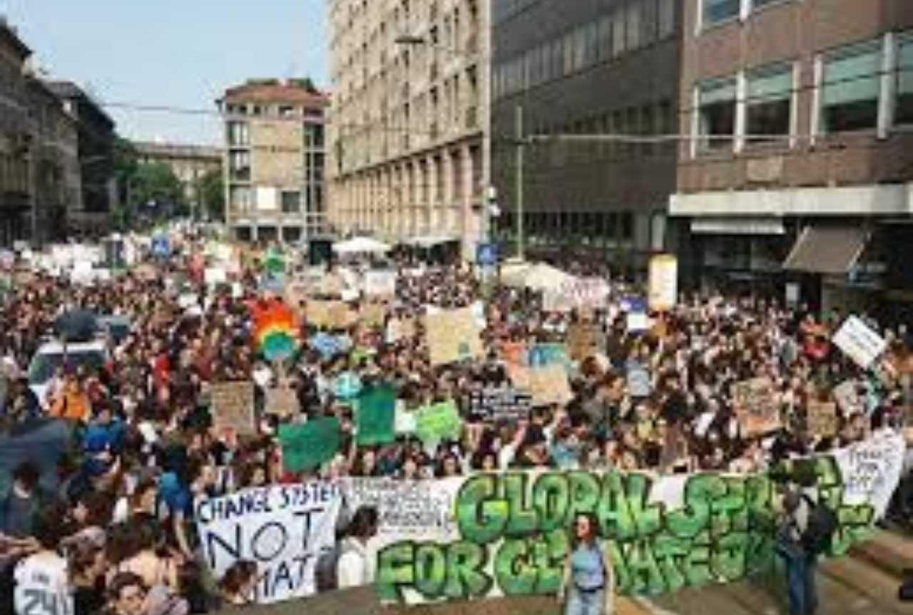 Fridays for future emergenza clima