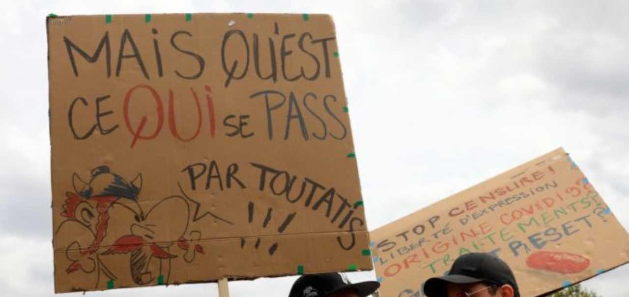 francia green pass