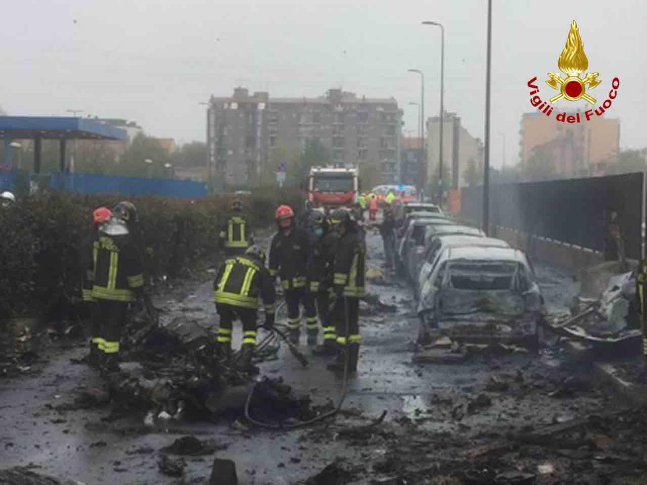 Incidente aereo a Milano