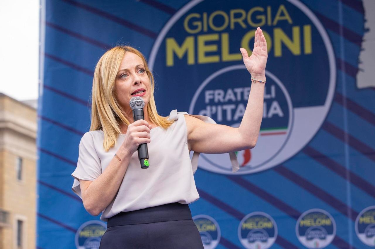 Giorgia Meloni Comunali 2021