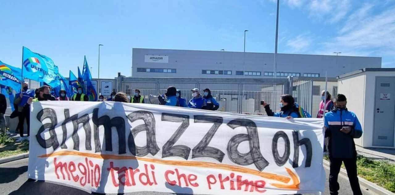 Magazzino Amazon Piacenza